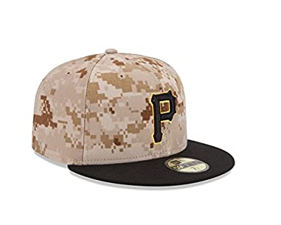 "Pittsburgh Pirates New Era ""MLB Authentic Collection 59FIFTY Cap"" Camo"