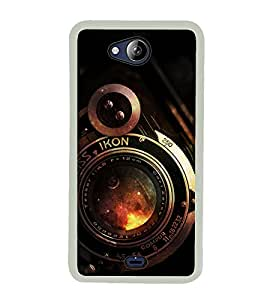 CAMERA Designer Back Case Cover for Micromax Canvas Play Q355