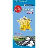 Carte France 2014 100% Plastifiée Michelin