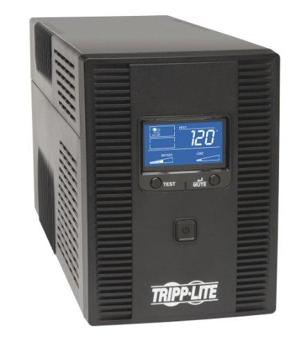 tripp-lite-1500va-ups-back-up-avr-lcd-display-10-outlets-120v-810w-tel-coax-protection-usb-omni1500l