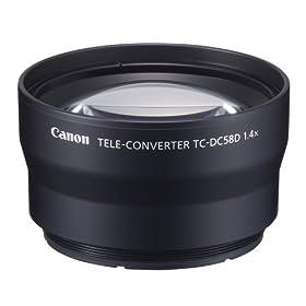 Canon TC-DC58D Tele Converter Lens for Canon G10 Digital Camera (requires LA-DC58K Lens Adapter)