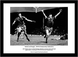Liverpool Fc John Toshack And Kevin Keegan 1976 League Champions Framed Picture Memorabilia