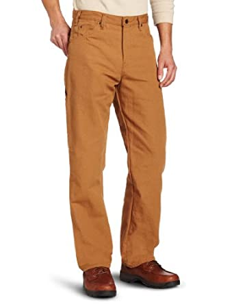 Dickies Men's Relaxed Fit Straight leg Duck Carpenter Jean at Amazon