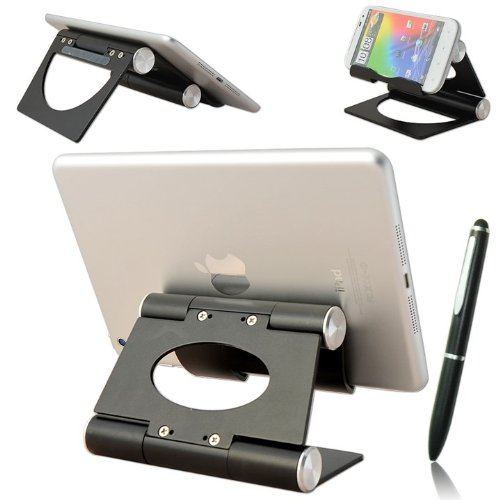 Click to buy First2savvv black multi-angle Luxury Polished Stainless Steel Stand desktop dock docking station for SONY Tablet P SONY Tablet S SONY P Series SGPT212GB/S.CEK 3G Tablet PC - 4GB 16GB SONY Xperia Z 10.1