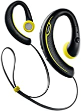 Jabra Sport Plus Wireless Bluetooth Stereo Headphones, Retail Packaging, Black/Yellow
