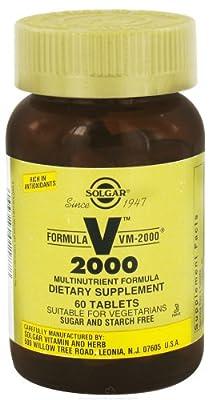 Solgar - Formula VM 2000 Multinutrient Formula