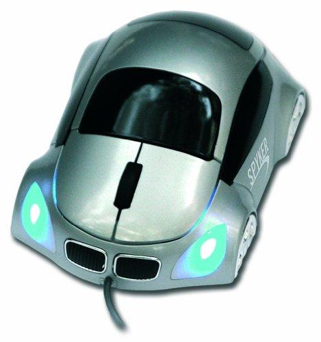 SPYKER - S-SPY-MKART - SOURIS OPTIQUE FILAIRE - USB - VOITURE