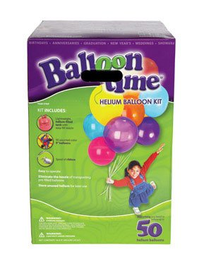 Helium Tank Kit