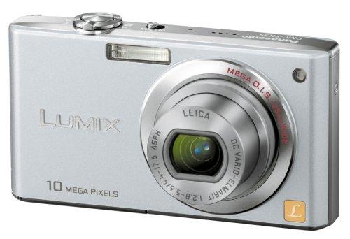 Panasonic デジタルカメラ LUMIX (ルミックス) FX35 プレシャスシルバー DMC-FX35-S