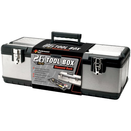 Performance Tool W54026 26 Inch Steel Tool Box (Tool Box For Car compare prices)