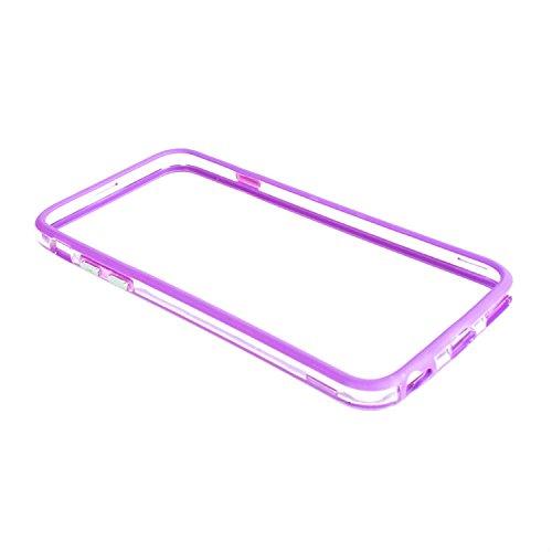 J9Q iPhone 6 プラス 5.5インチ超薄フレーム側ボタン バンパー ケース カバー スキン