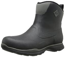 MuckBoots Men\'s Excursion Pro Mid Boot,Black/Gunmetal,9 M US