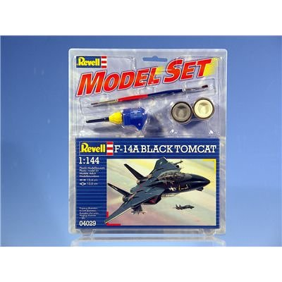 Revell Modellbausatz 64029 - Model Set F-14A