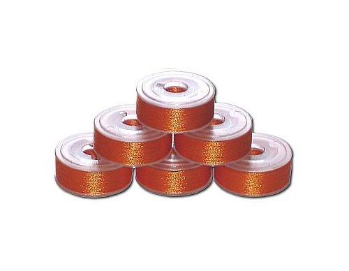 72 Prewound Bobbins - Orange Spice P830