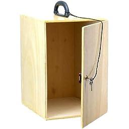 AmScope WC-B400 Hard Wood Case for B400, B420, B500, T400, T420, T500..