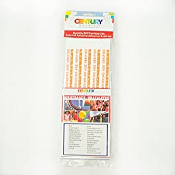 500 Orange Drinking Age Verified Tyvek Security Wristbands