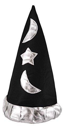 Boys Child Wizard Hat for Kids Magic Merlin Sorting Fancy Dress Outfit Accessory by Partypackage (Fancy Dress Magic Ltd)