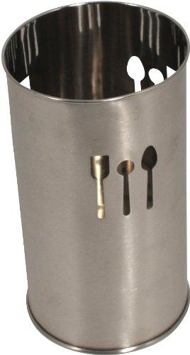 Metaltex 185375010 - Contenitore portaposate in acciaio INOX