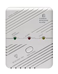 Ei Electronics Carbon Monoxide Alarm with Mains Plug and Memory Feature from Ei Electronics
