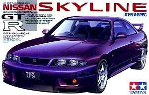 Nissan Skyline GT-R V-Spec Model Car 1/24 Tamiya
