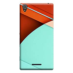 iShell Premium Printed Mobile Back Case Cover With Full protection For Sony Xperia T3 (Designer Case)