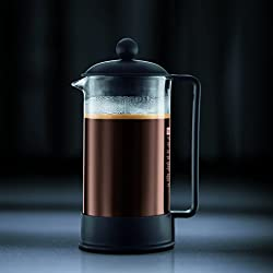 Bodum Brazil 3 cup French Press Coffee Maker, 12 oz, Black from Bodum