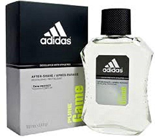 2 x Adidas Pure Gioco lozione dopobarba per gli uomini, ogni 100 ml