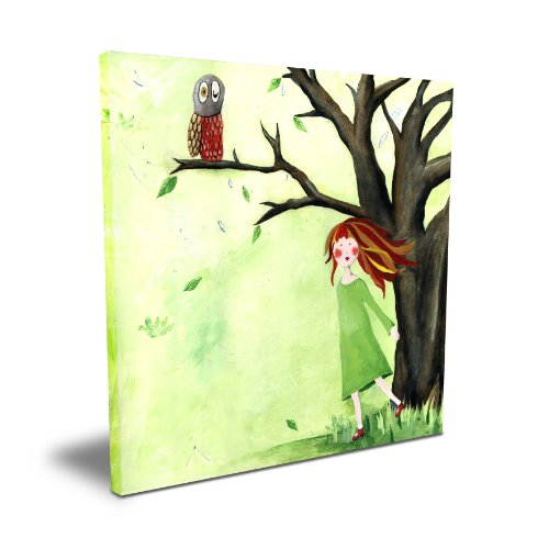 "Cici Art Factory Who Who Owl, 16""x 16"""