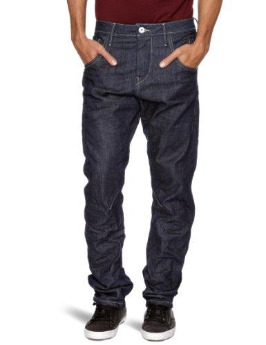 Jack and Jones Stan Twisted Loose Men's Jeans Jos Blue W30INxL34IN