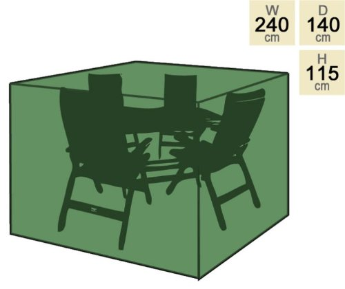 Primrose Abdeckung für rechteckigen Tisch mit 4 Stühlen – Premium bestellen