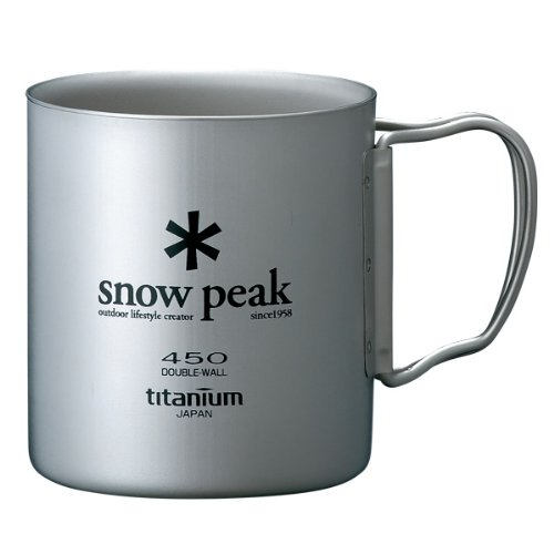 Snow Peak Double Wall 450 Cup One Size (Double Wall Cup compare prices)