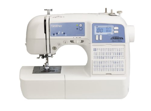 Brother XR9500PRW Project Runway Limited Edition Sewing Machine with 100 Built-in Stitches and Quilting Table (Monogramming And Sewing Machine compare prices)