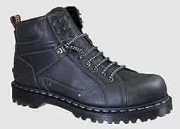 Dr. Martens Men\'s Diego Lace up Boot,Black,7 F(M) UK / 8 D(M) US