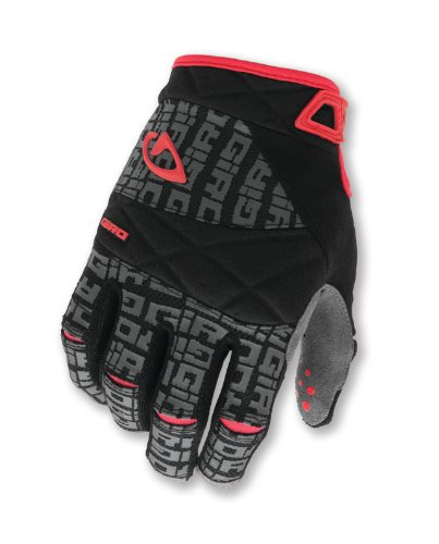 Giro DJ Mountain Biking Gloves, Black/Charcoal, Medium