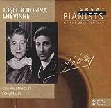 Die großen Pianisten des 20. Jahrhunderts - Josef und Rosina Lhevinne - Josef & Rosin Lhevinne