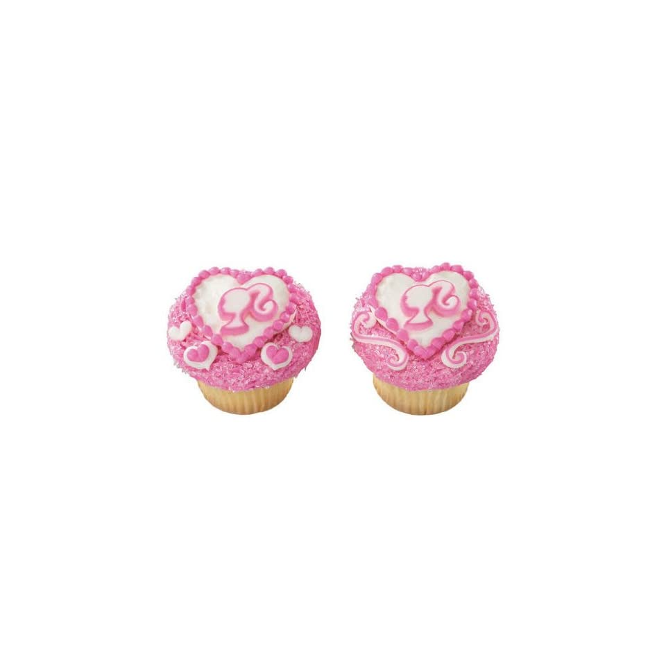 Barbie Sugar Cupcake Cake Decoration Topper On Popscreen