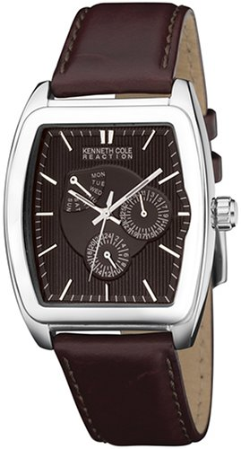 Kenneth Cole Reaction Men's Watch #KC1377 - Buy Kenneth Cole Reaction Men's Watch #KC1377 - Purchase Kenneth Cole Reaction Men's Watch #KC1377 (Kenneth Cole, Jewelry, Categories, Watches, Men's Watches, Casual Watches, Leather Banded)