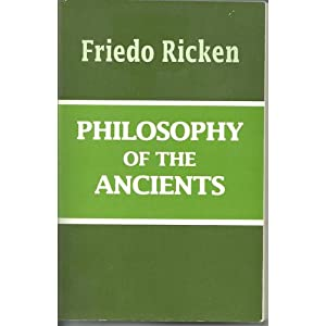 Amazon.com: Philosophy of the Ancients (9780268015886): Friedo ...