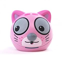 Zoo-Tunes Portable Mini Character Speakers for MP3 Players, Tablets, Laptops etc. (Kitten)