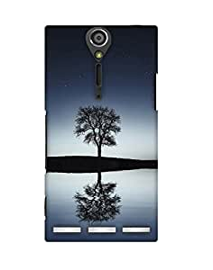 Mobifry Back case cover for Sony Xperia S Mobile ( Printed design)