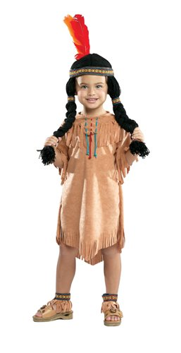 Indian Girl Native American Child Costume