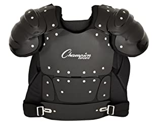 Pro Baseball Softball Umpire Official Sports Chest Protector Guard Gear P200 by Champion Sports