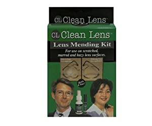 Eyeglass Lens Mending Kit (for use on scratched, marred and hazy lens surfaces)