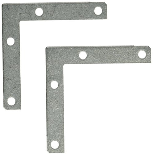 "Stanley Hardware CD999R 3"" Flat Corner Brace Galvanized"