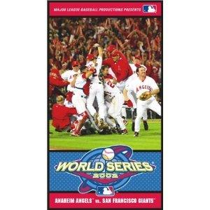 2002 World Series Video - Anaheim Angels vs. San Francisco Giants movie