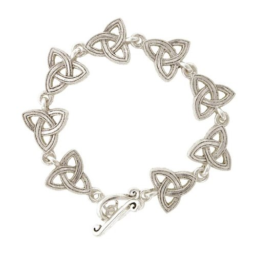 The Vatican Library Collection Celtic Trinity Triquetra Bracelet
