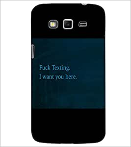 PrintDhaba Quote D-3473 Back Case Cover for SAMSUNG GALAXY GRAND 2 (Multi-Coloured)