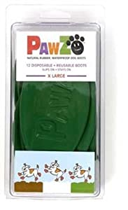 X Large Pawz Durable All Weather Dog Boots (12 boots) by Protex