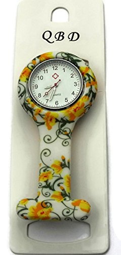 qbd-clip-series-nurses-glowing-hands-red-cross-patterned-silicon-rubber-fob-watch-yellow-flowers-20