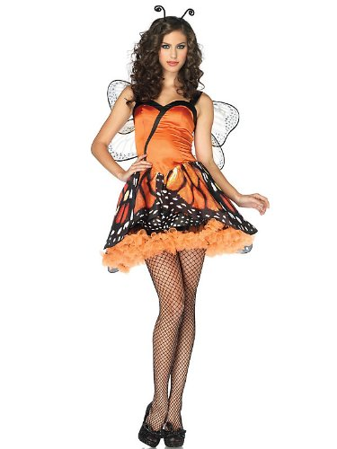 Leg Avenue Women's 2 Piece Lovely Monarch Butterfly Costume